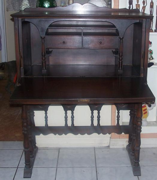 Antique Furniture Appraisal: Antique Secretary Made By Lenox Shops Furniture Canastota