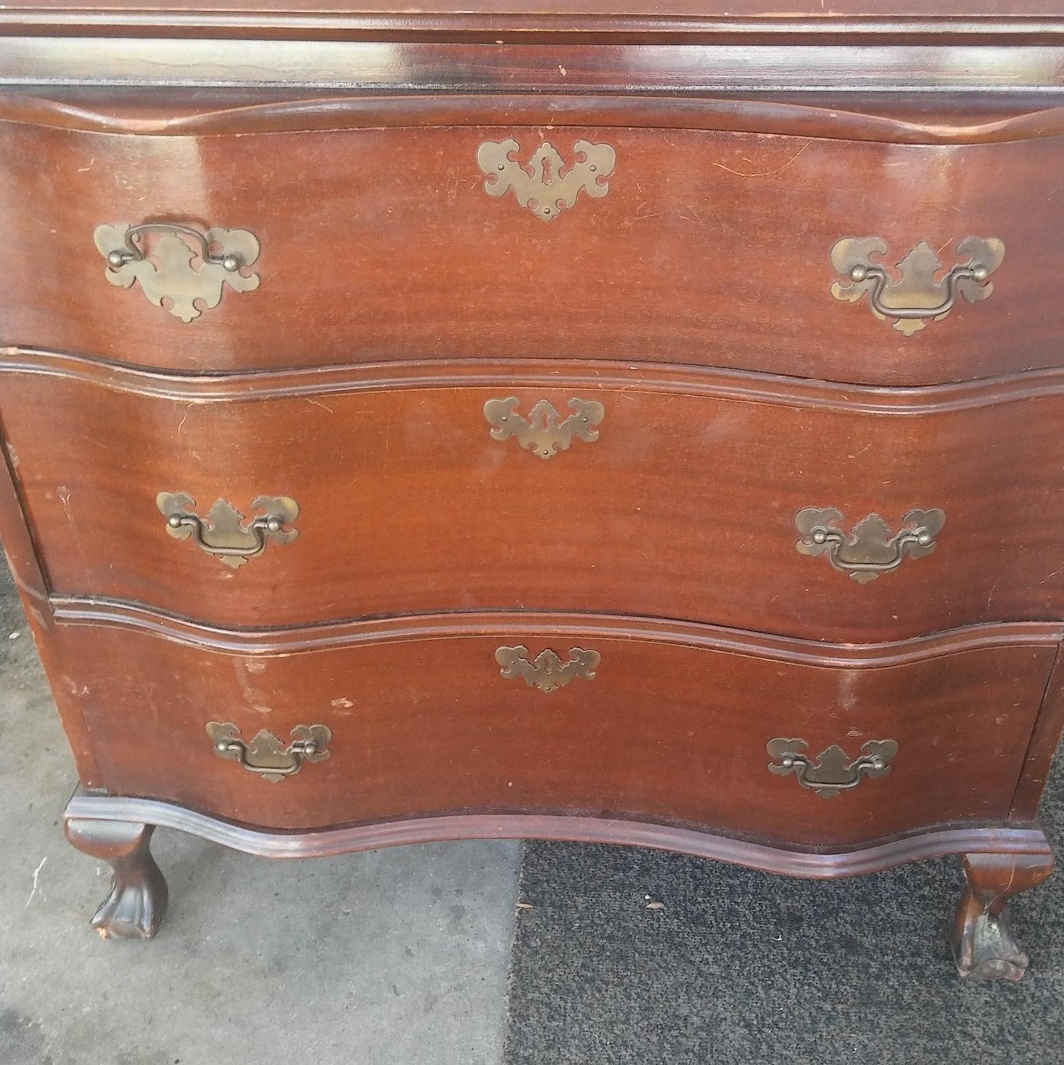 Antique Furniture Appraisal: Secretary Desk And Cedar Chest Antique Appraisal