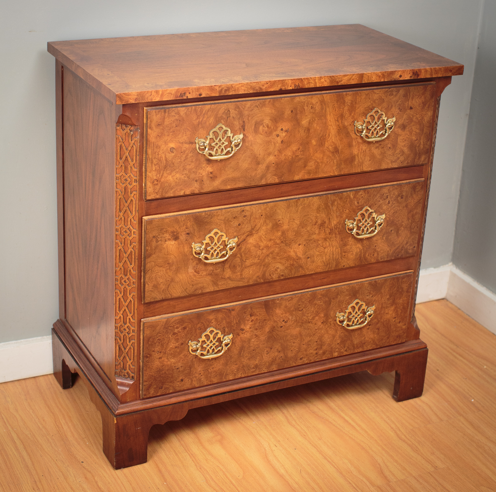 Antique Furniture Appraisal: Chippendale Style Chest Of Drawers By Baker Furniture